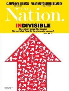 Indivisible on The Nation magazine cover